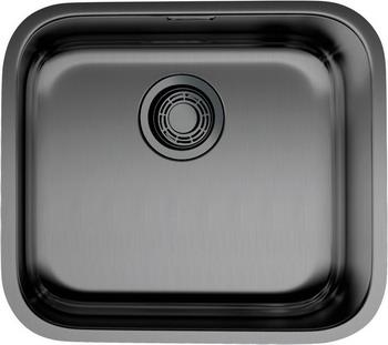 Кухонная мойка OMOIKIRI Ashino 49-GM вороненая сталь (4973073) кухонная мойка вороненая сталь omoikiri ashino 49 gm
