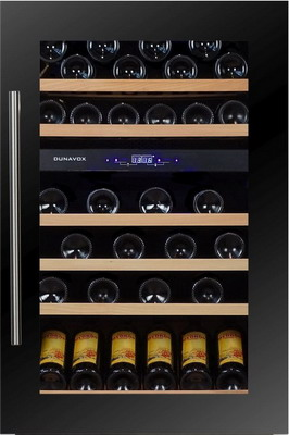 Встраиваемый винный шкаф Dunavox DX 57.146 DBK apple ipad pro 12 9 inch wi fi 256gb silver [mp6h2ru a] new