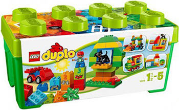 Конструктор Lego DUPLO MY FIRST Механик 10572 57pcs my first number train model building action learning bricks baby toys compatible with lego duplo