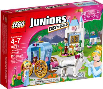 Конструктор Lego JUNIORS КАРЕТА ЗОЛУШКИ 10729 конструктор lego juniors 10729 карета золушки