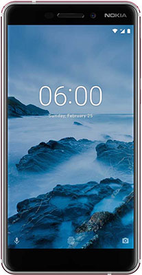 Мобильный телефон Nokia 6.1 (2018) 32 GB Dual Sim белый мобильный телефон huawei p smart 3 32 gb dual sim золотистый