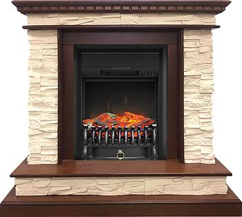 Каминокомплект Royal Flame Calgary с очагом Fobos BL (дуб) 211164923893 royal flame fobos fx brass rb std5brfx 64905218