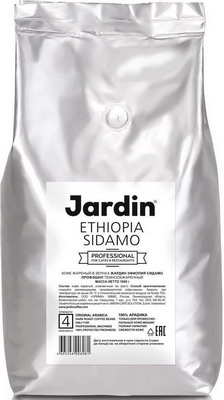 Кофе зерновой Jardin Ethiopia Sidamo 1кг educational change in ethiopia