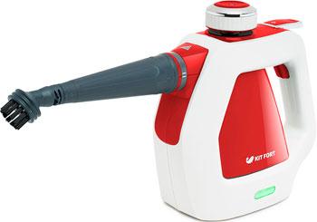 Пароочиститель Kitfort КТ-918-1 красный пароочиститель kitfort кт 918 1 красный