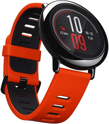 Часы Xiaomi Amazfit PACE красный смарт часы xiaomi amazfit pace красный