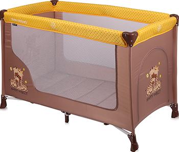 Манеж-кровать Lorelli San Remo 1 Бежево-желтый / Beige&Yellow Happy Family 10080011803