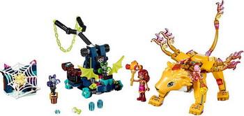 Конструктор Lego Elves: Ловушка для Азари и огненного льва 41192 809pcs elves skyra s mysterious sky castle model building block toys enlighten 10415 gift for children compatible legoe 41708