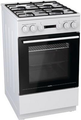 Комбинированная плита Mora K 1211 AW электрическая плита mora cs103mw белый