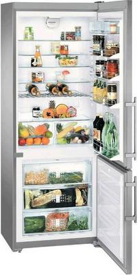 Двухкамерный холодильник Liebherr CNPesf 5156-20 холодильник liebherr cbnpes 5156 двухкамерный нержавеющая сталь