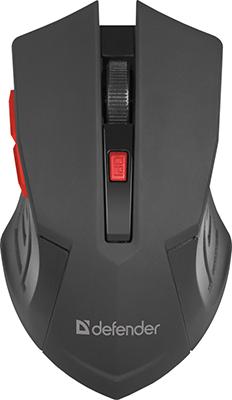 Мышь Defender Accura MM-275 красный 52276