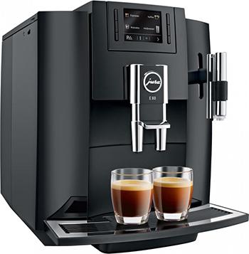 Кофемашина автоматическая Jura E 80 Pianoblack (15083) цены онлайн