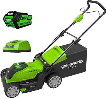 Колесная газонокосилка Greenworks 40 V G 40 LM 41 K3 2504707 UE