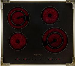 Встраиваемая электрическая варочная панель Kuppersberg FA6RC Bronze  цена