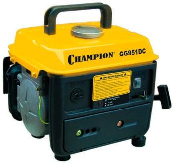Электрический генератор и электростанция Champion GG 951 DC бензиновый генератор кратон gg 5500m