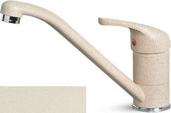 цены Кухонный смеситель Elleci MINERVA  granitek (62) Bianco Antico MGKMIN 62