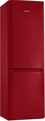 Двухкамерный холодильник Позис RK FNF-170 рубиновый холодильник pozis rk 139 w