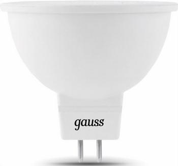 Лампа GAUSS LED MR 16 GU5.3 5W 2700 K 101505105 лампа gauss led globe e 27 6 5w 2700 k 105102107