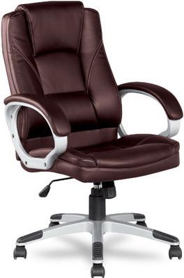 Кресло College BX-3177 Коричневое кресло руководителя college bx 3177