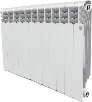 Водяной радиатор отопления Royal Thermo Revolution Bimetall 500 – 12 секц. royal thermo биметаллический revolution bimetall 500 8 секций