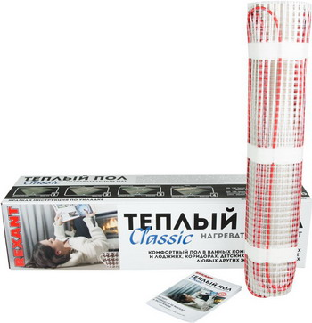 Теплый пол REXANT Classic RNX-8 0-1200