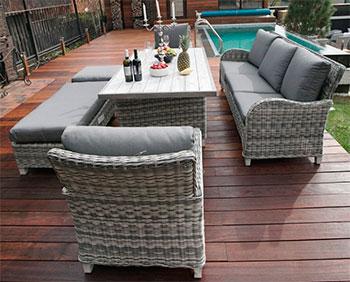 Комплект мебели Besta Fiesta Ницца