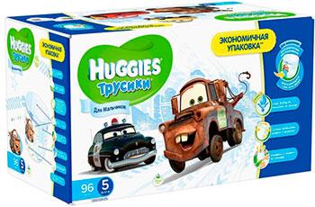 цены на Трусики-подгузники Huggies Annapurna Размер 5 13-17кг 96шт для мальчиков в интернет-магазинах