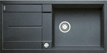Кухонная мойка BLANCO METRA XL 6 S-F антрацит с клапаном-автоматом blanco metra 6 f с клапаном автомата аллюметаллик