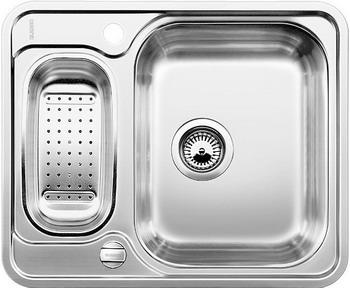 Кухонная мойка BLANCO LANTOS 6-IF полированная нерж. сталь с клапаном-автоматом кухонная мойка blanco andano 500 180 u нерж сталь полированная с клапаном автоматом правая