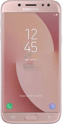 Мобильный телефон Samsung Galaxy J7 (2017) розовый смарт часы hiper babyguard 1 розовый розовый [bg 01pnk]