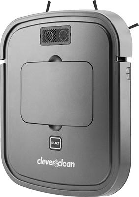 Робот-пылесос CleverampClean Slim-Series VRpro 01 пылесос аккумуляторный cleverampclean hv 100