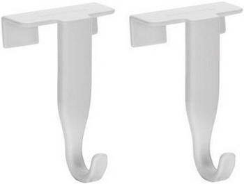 Крючки на двери Tescoma PRESTO 4шт 420832 крючок из нержавеющий стали двойной tescoma presto 420845