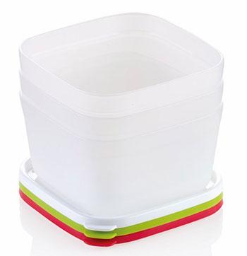 Контейнеры для заморозки Tescoma PURITY 0 5л  3шт 891862 набор контейнеров для заморозки tescoma purity цвет красный прозрачный 300 мл 2 шт