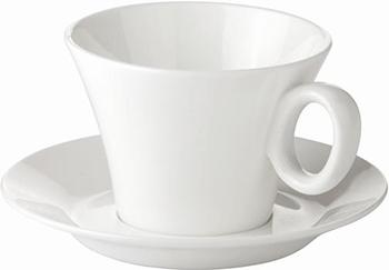 Чашка для чая Tescoma ALLEGRO с блюдцем 387524 чашка для эспрессо tescoma crema с блюдцем