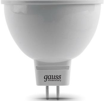 Лампа GAUSS LED Elementary MR 16 GU5.3 9W 2700 K 13519 partner лягушка универсальное сетевое зу цвет белый черный