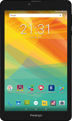 Планшет Prestigio MultiPad Muze 3708 8'' 3G 16 GB Black планшет prestigio muze 3708 3g wcpmt37083gccis quad core 1gb 8gb 8 0 hd 800x1280 ips display dual sim 0 3mp 2 0mp android 7 0 black