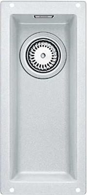 Кухонная мойка BLANCO 523400 SUBLINE 160-U SILGRANIT белый c отв.арм. InFino кухонная мойка blanco subline 160 u белая