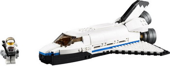 Конструктор Lego CREATOR Исследовательский космический шаттл 31066 y scoo y scoo самокат 2 х колесный rt 215 monterey titanium