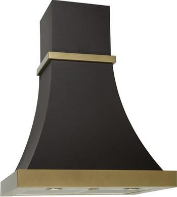 Вытяжка классическая ELIKOR Ар-Деко 60П-700-П3Д КВ I М-700-60-357 антрацит 9005/бронза ironfix 568 60 700