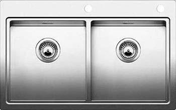 Кухонная мойка BLANCO CLARON 400/400-IF/А нерж. сталь зеркальная полировка 521654 мойка claron 400 u 517213 blanco