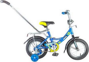 Велосипед Novatrack 12 URBAN синий 124 URBAN.BL6 велосипед детский novatrack urban цвет красный черный 16