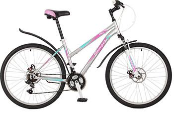 Велосипед Stinger 26 SHD.LATINAD.17 GR7 26'' Latina D 17'' серый
