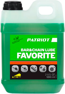 Масло Patriot FAVORITE BAR&CHAIN LUBE 1 892л 850030580 gps для туриста