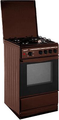 цена на Комбинированная плита Terra GE 5404 Br коричневый