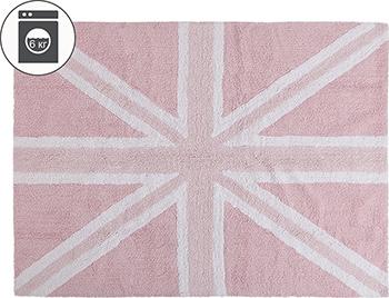 Ковер Lorena Canals Флаг Великобритании розовый 120*160 C-FEB-1