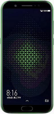 Смартфон Xiaomi Black Shark 6/64 GB черный homtom защищенный смартфон homtom ht20 черный black