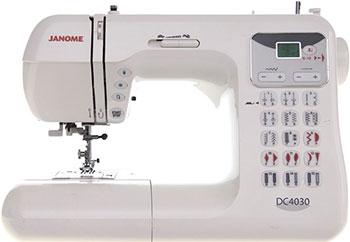 Швейная машина Janome DC 4030 швейная машина janome decor computer 4030 dc 4030 жесткий чехол