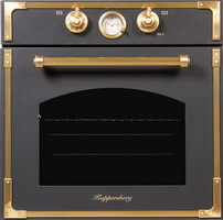 Встраиваемый электрический духовой шкаф Kuppersberg RC 699 ANT BRONZE электрический духовой шкаф kuppersberg rc 699 bor bronze