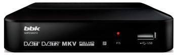 Цифровой телевизионный ресивер BBK SMP 018 HDT2 чёрный bbk smp 132 hdt2 dark grey