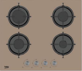 Встраиваемая газовая варочная панель Beko HISG 64222 SBR встраиваемая газовая варочная панель beko hiaw 64225 sx