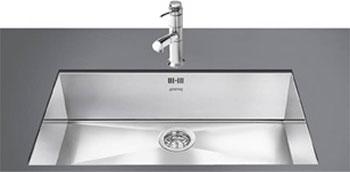 Кухонная мойка Smeg VSTQ 72-2 мойка lr102 smeg